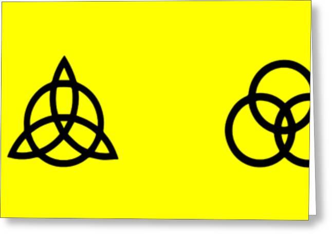 Z O S O Led Zeppelin Logo For T-shirt Greeting Card