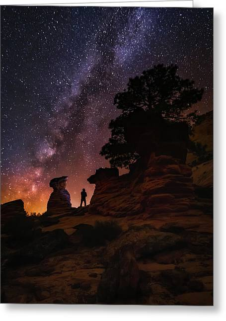Greeting Card featuring the photograph Zion by Tassanee Angiolillo