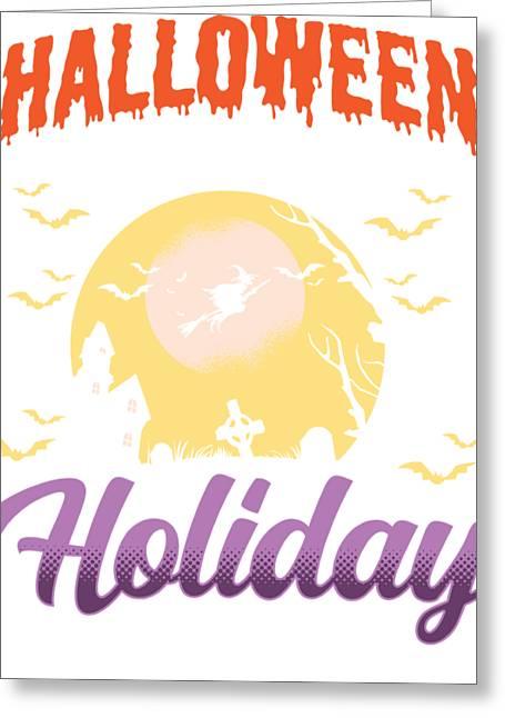 Halloween LESLIE MURRAY Cat Masked Boa HUMOROUS Halloween Greeting Card NEW