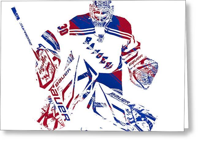 NY Rangers Celebrate Greeting Card NOS