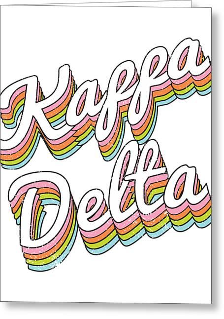 Kappa Delta Sorority College Sisters Alumni Vintage Rainbow Sweatshirt
