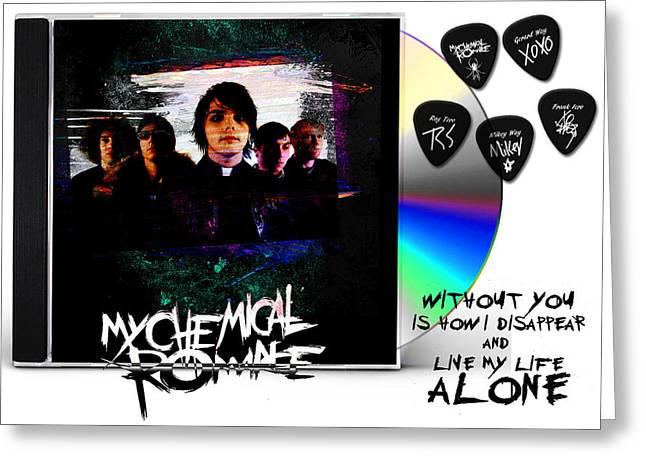 My Chemical Romance Birthday Card A5 Personalised with own wording
