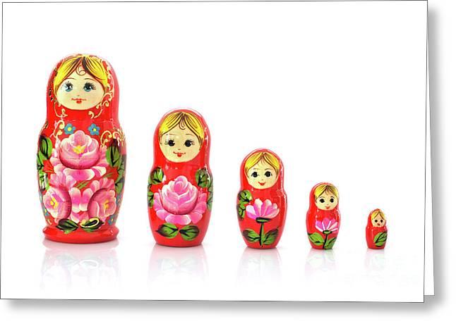 Russian Doll Card Handmade Matryoshka Card Russian Doll Card Russian Babushka Rhinestone Art Blank Any Occasion Card Rhinestone Card