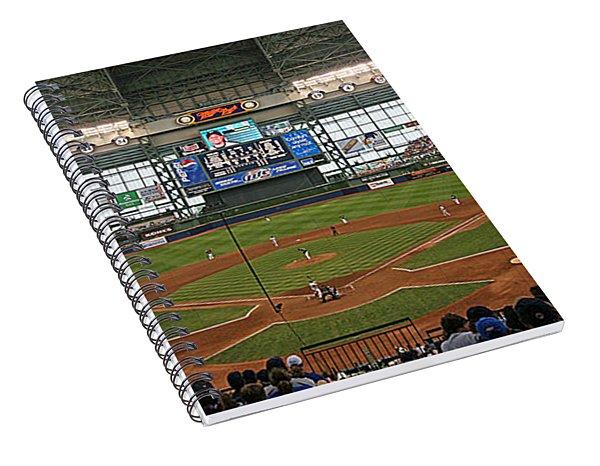 0613 Miller Park Spiral Notebook