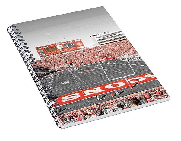 0813 Camp Randall Stadium Panorama Spiral Notebook