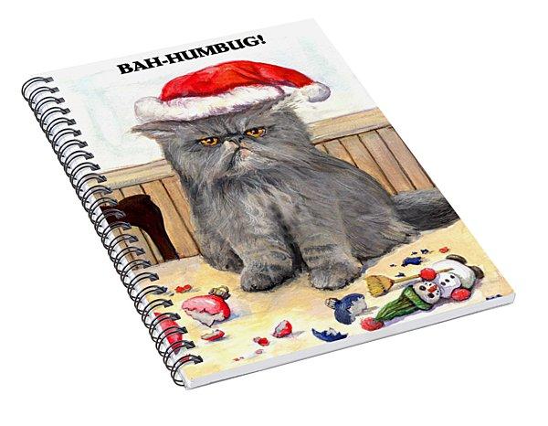 Bah-humbug Spiral Notebook