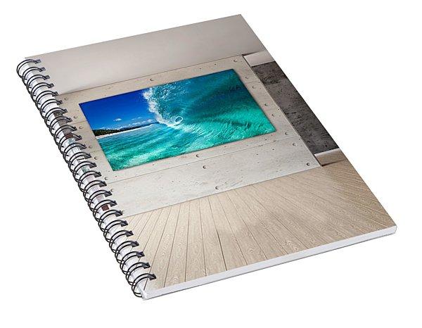 Barrel Swirl Spiral Notebook