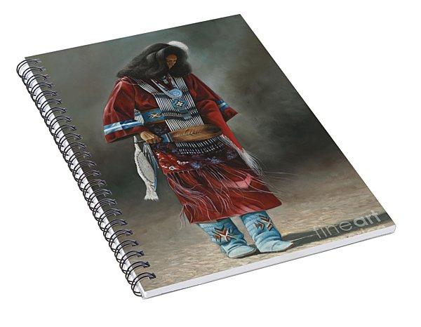 Ceremonial Red Spiral Notebook