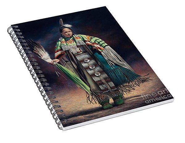 Ceremonial Rhythm Spiral Notebook