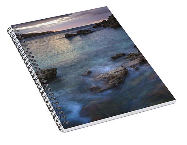Chanteiro Beach Galicia Spain Spiral Notebook