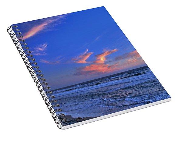 Great Highway Sunset Spiral Notebook