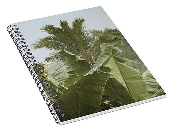 Monsoon Rains In Sri Lanka Spiral Notebook