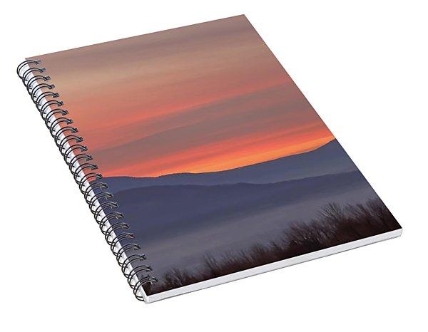 Mountain Sunrise 1 Spiral Notebook