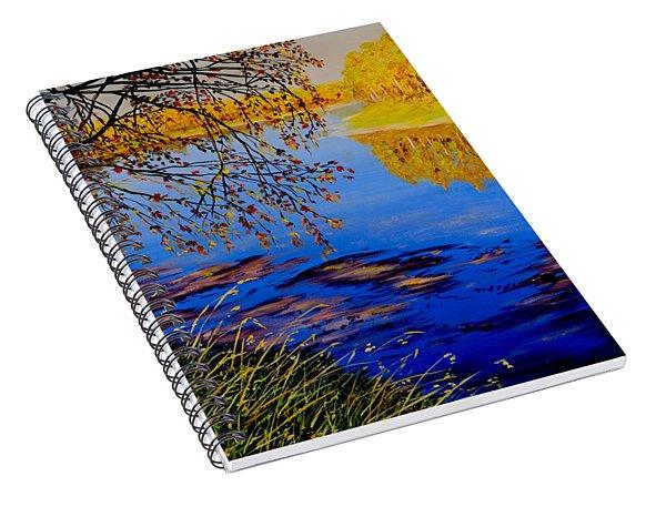 October Afternoon Spiral Notebook