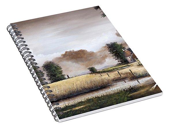 Through The Cornfield Spiral Notebook