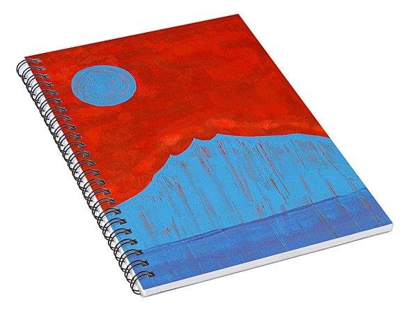 Tres Orejas Original Painting Spiral Notebook