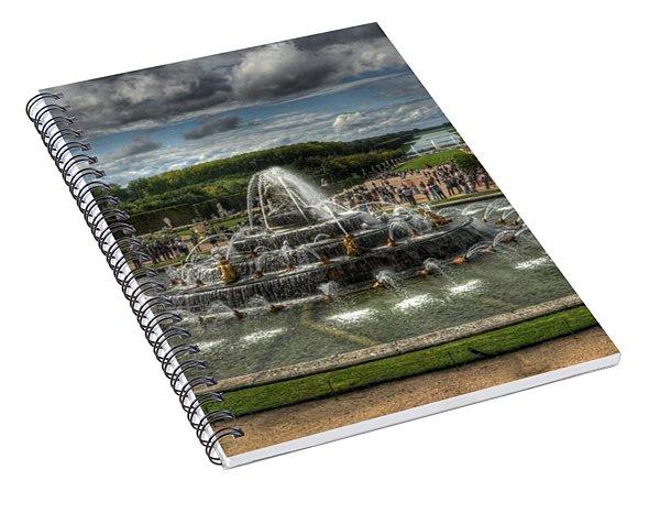 Versailles Fountain Spiral Notebook