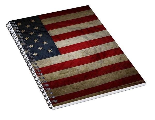 American Flag 56 Spiral Notebook