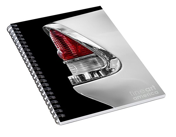 1955 Chevy Rear Light Detail Spiral Notebook
