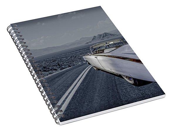 1959 Cadillac Eldorado Cool Night Spiral Notebook