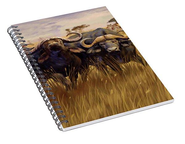 2 Bad Duga Boys  Spiral Notebook
