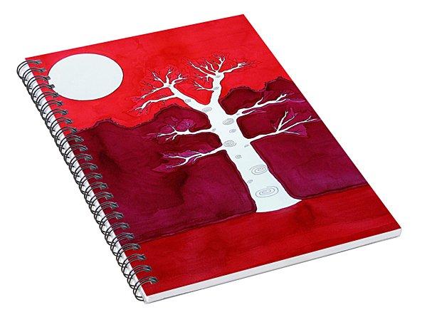Canyon Tree Original Painting Spiral Notebook
