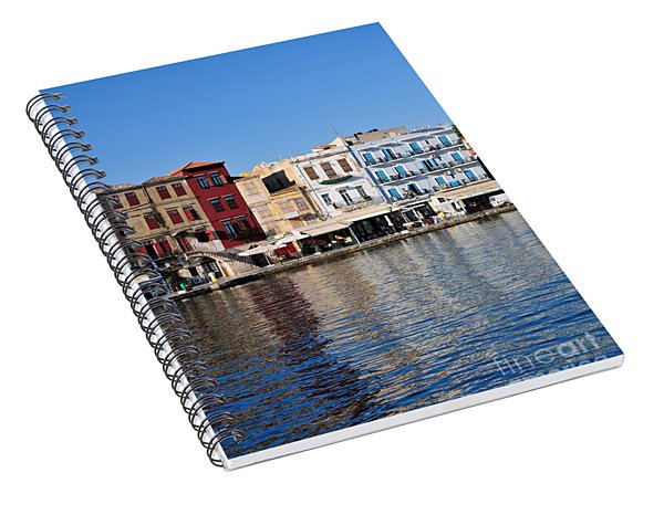 Chania City Spiral Notebook