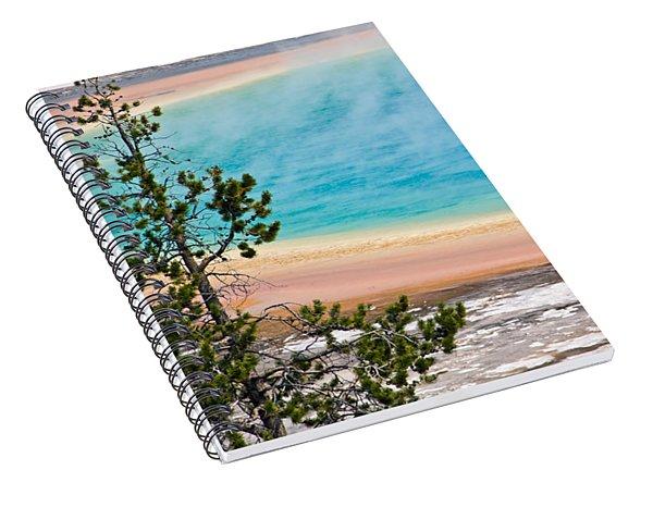 Grand Prismatic Spring Spiral Notebook