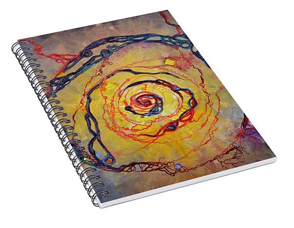 Growth Pattern Spiral Notebook
