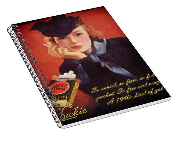 Luckie Spiral Notebook