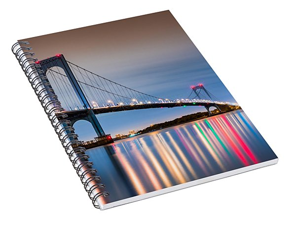 Whitestone Bridge Spiral Notebook