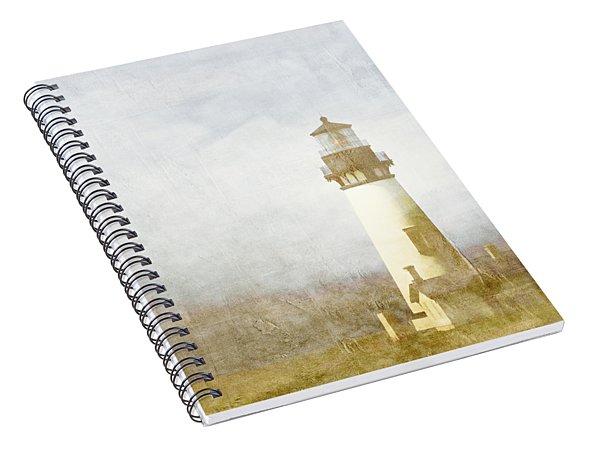 Yaquina Head Light Spiral Notebook