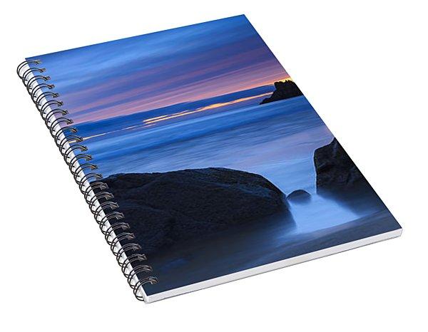 Campelo Beach Galicia Spain Spiral Notebook