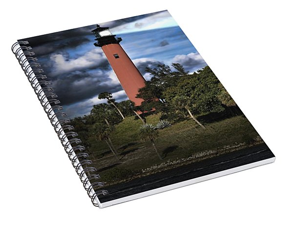 Jupiter Lighthouse Spiral Notebook