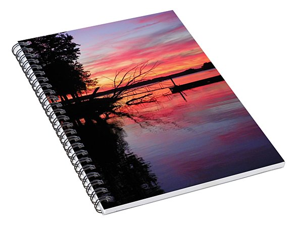 Sunset 9 Spiral Notebook