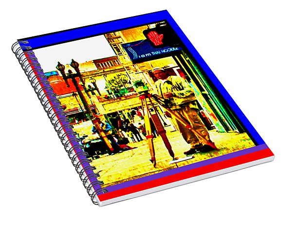A Day Job In San Francisco Spiral Notebook