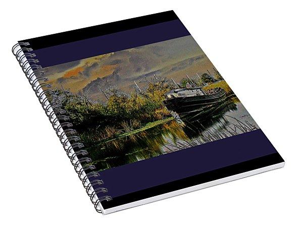 A Delta Tug Forgotten Spiral Notebook