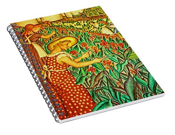 A Flower Harvest Spiral Notebook