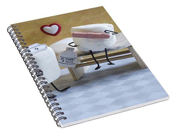 A Spoonful Of Sugar Spiral Notebook