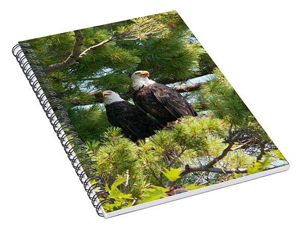 A Watchful Pair Spiral Notebook