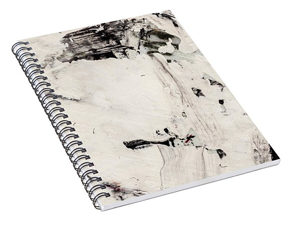 Abstract Original Painting Number Four Spiral Notebook