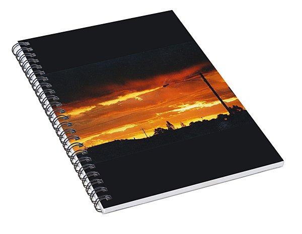 Alamosa Sunset 2 Spiral Notebook