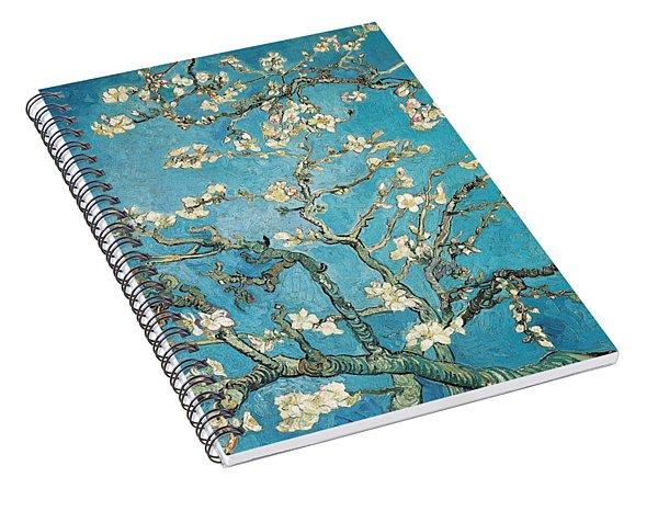 Almond Branches In Bloom Spiral Notebook