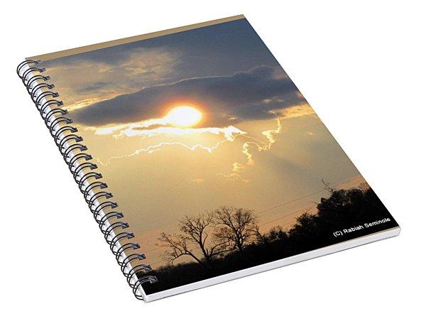 Amazing Sunset Spiral Notebook