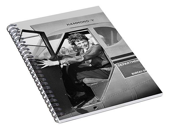 Amelia Earhart - 1936 Spiral Notebook