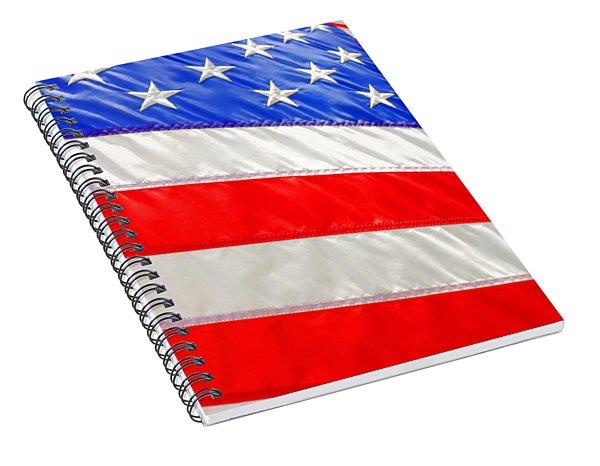 American Flag 1 Spiral Notebook