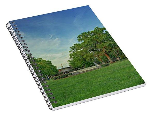 American University Quad Spiral Notebook