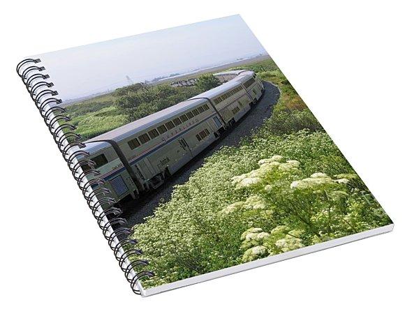 Coast Starlight At Dolan Road Spiral Notebook