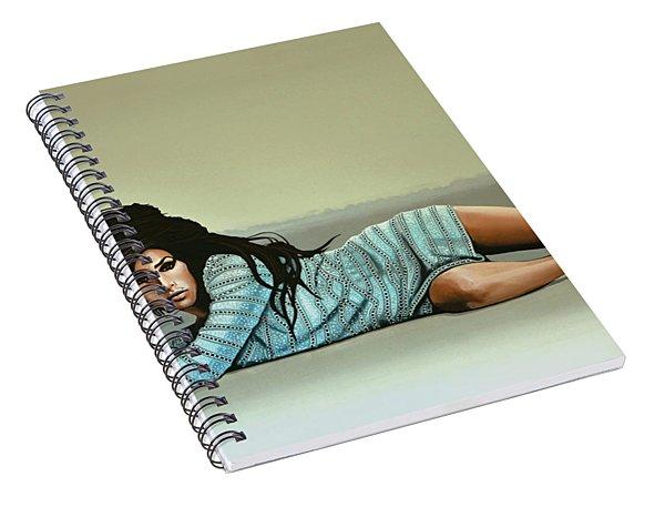 Amy Winehouse 2 Spiral Notebook