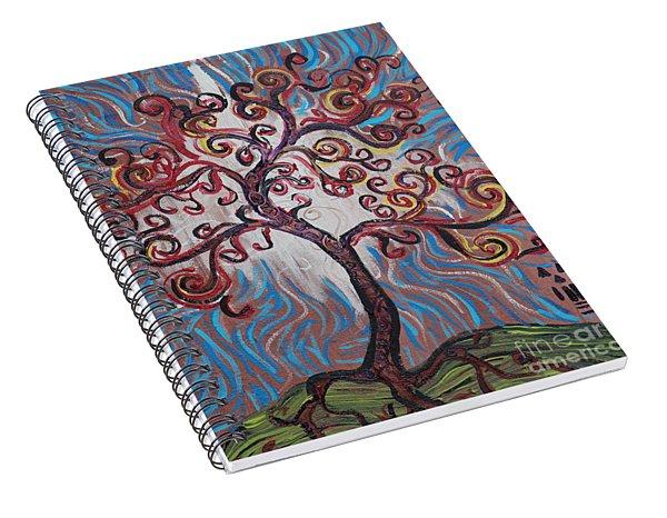 An Enlightened Tree Spiral Notebook